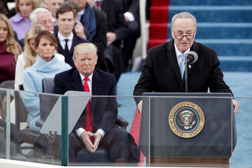 Donald Trump Blames Chuck Schumer