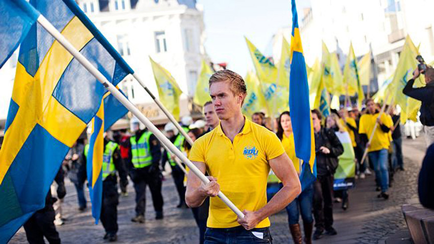 Sweden Democrats the Anti-immigration party set to score big in Upcoming elections